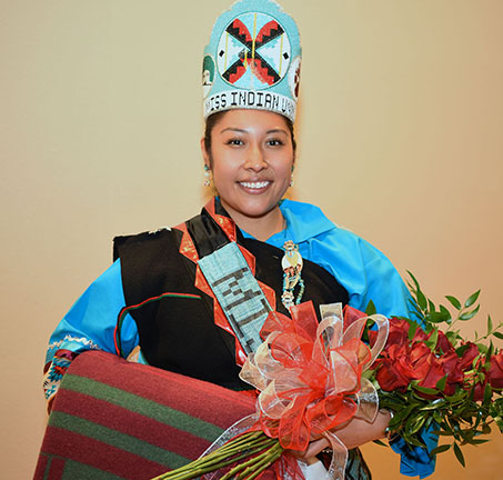 picture of Miss Indian UNM